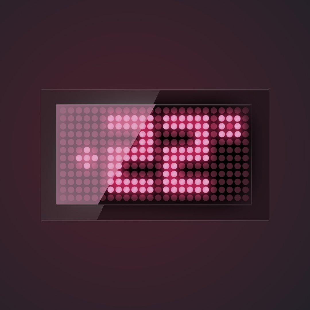 Display OTD - Mockup notte